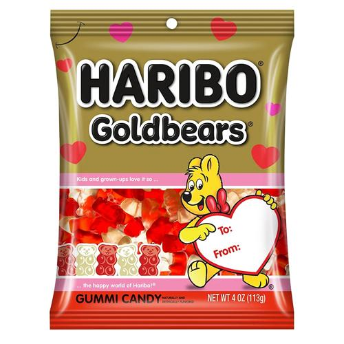 Haribo Goldbears Valentine's Day Edition, 4oz