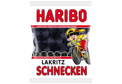 Haribo Lakritz Schnecken, 200g (Product of Germany)