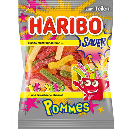 Haribo Pommes Sauer, 200g (Product of Germany)