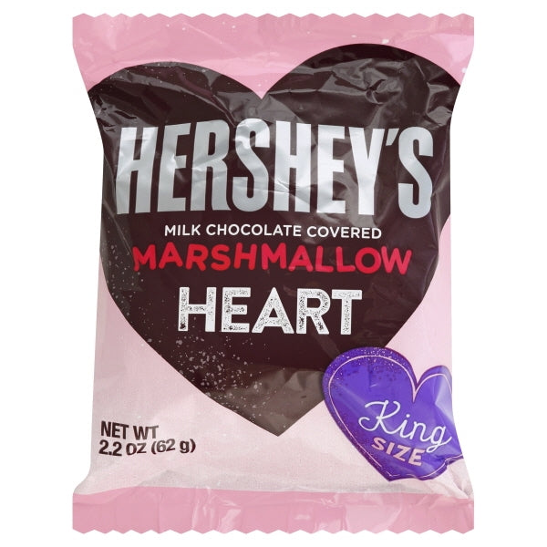 Hershey's Marshmallow Heart King Size, 2.2oz