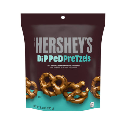 Hershey's Milk Chocolate Dipped Pretzels, 8.5oz