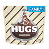 Hershey's Hugs Chocolate with White Creme Candy, Family Pack, 16.1oz