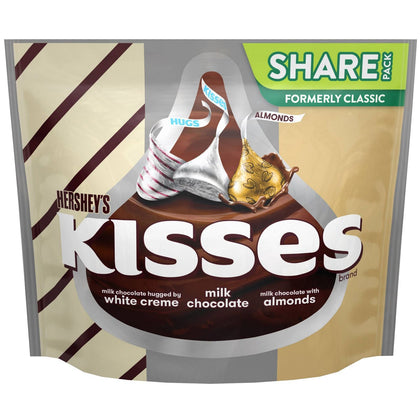 Hershey's Kisses Assortment Chocolate Candy, Share Pack, 10oz