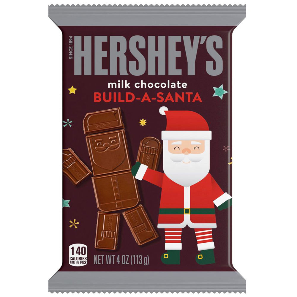 Hershey's Build-A-Santa, Milk Chocolate, 4oz