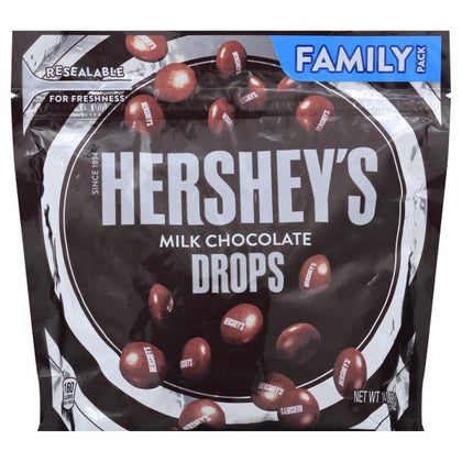 Hershey's Drops, Milk Chocolate, Family Pack, 14oz