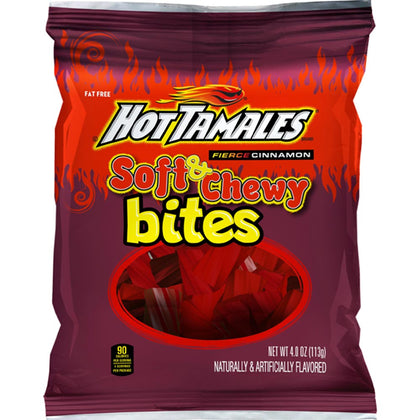 Hot Tamales Fierce Cinnamon Soft & Chewy Bites, 4oz
