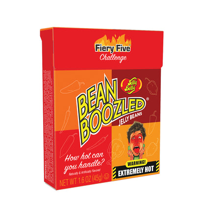 Jelly Belly BeanBoozled Fiery Five, 1.6oz Flip Top Box