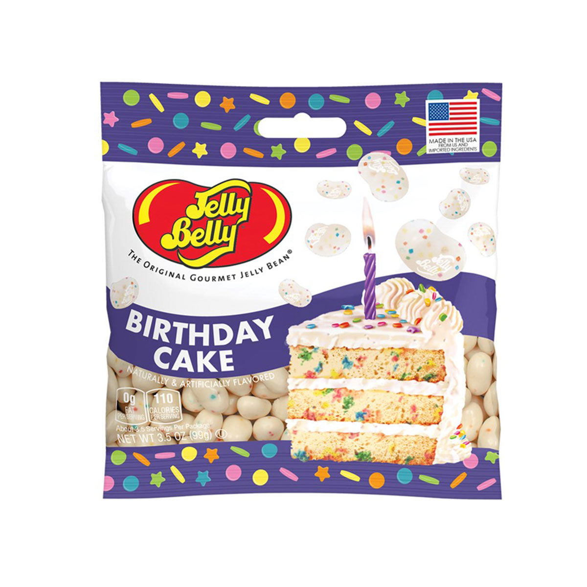 Jelly Belly Birthday Cake Jelly Beans, 3.5oz