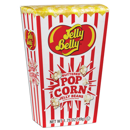 Jelly Belly Buttered Popcorn Jelly Beans Popcorn Box, 1.75oz