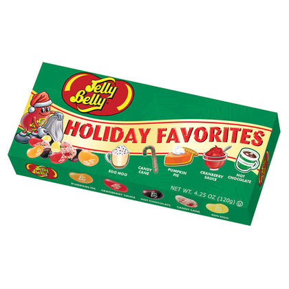 Jelly Belly Holiday Favorites Jelly Bean, 4.25oz Gift Box