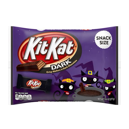 Kit Kat Halloween Dark Chocolate Snack Size Bars, 9.8oz