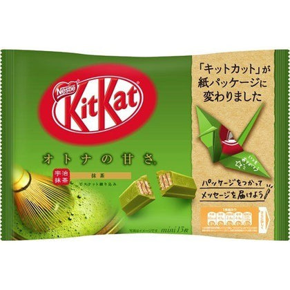 Kit Kat Matcha Miniatures Wafer Bar, 5.182oz (Product of Japan)