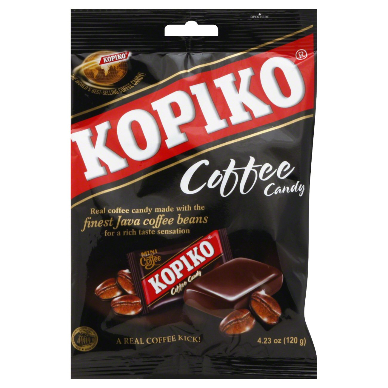 Kopiko Coffee Candy, 4.23 Oz