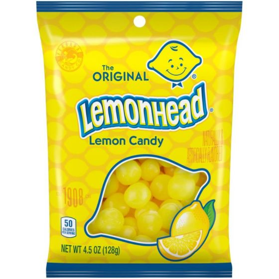 The Original Lemonhead Candy,  4.5oz