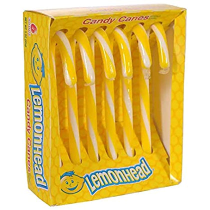 Lemonhead Candy Canes, 6 ct, 2.64oz