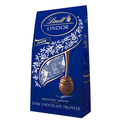 Lindt Lindor Dark Chocolate Truffles, 5.1 Oz