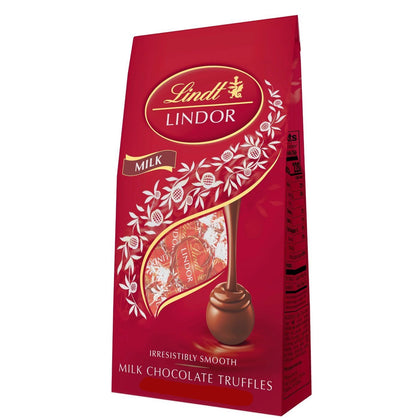 Lindt Lindor Milk Chocolate Truffles, 5.1 Oz