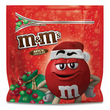 M&M's Holiday Milk Chocolate Candy, Party Size, 38oz