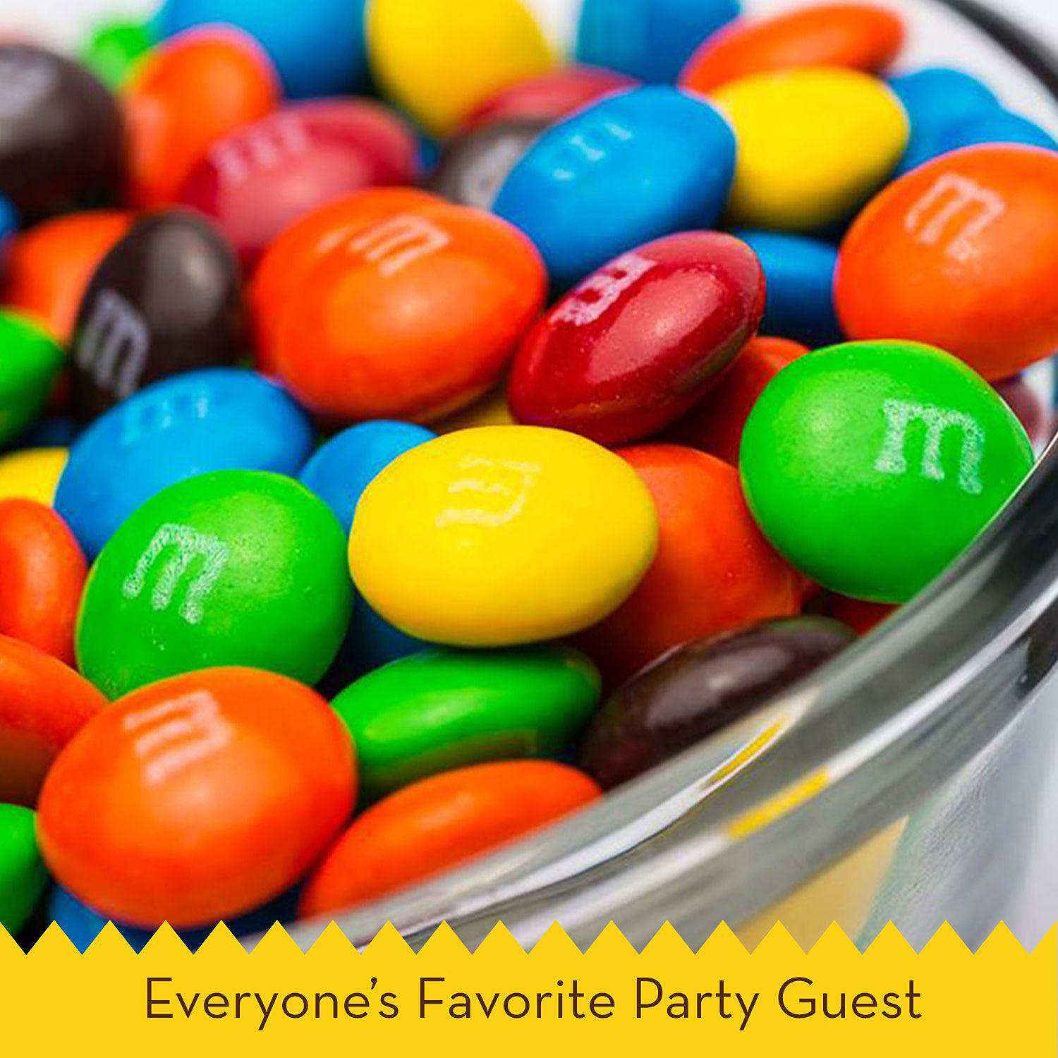 M&M's Chocolate Candy, Pantry Size Jar, 62oz