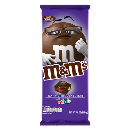 M&M'S Minis, Dark Chocolate Candy Bar, 4oz