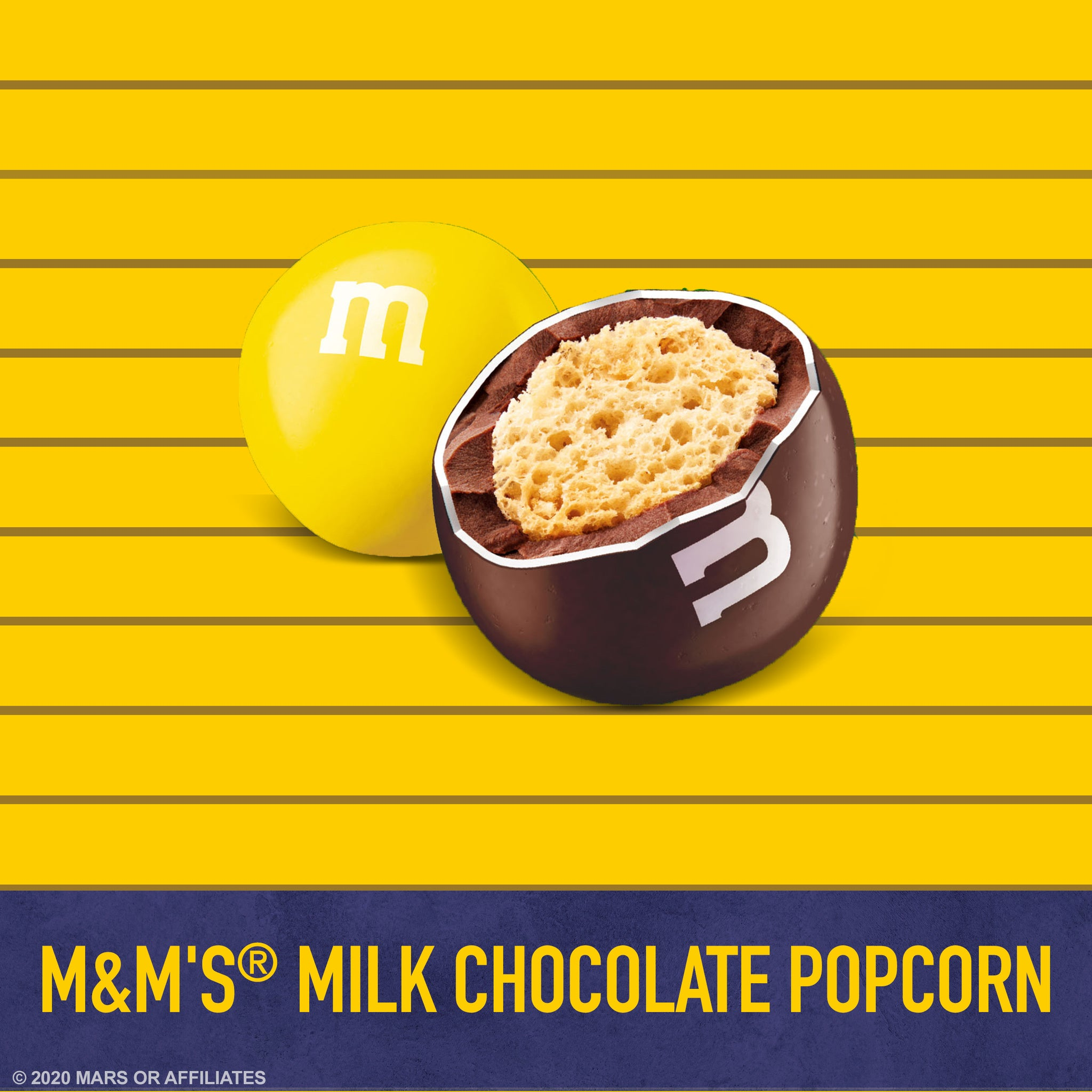 M&M'S Milk Chocolate Popcorn Candy, 7.44oz
