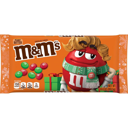 M&M's Holiday Peanut Butter, 10oz