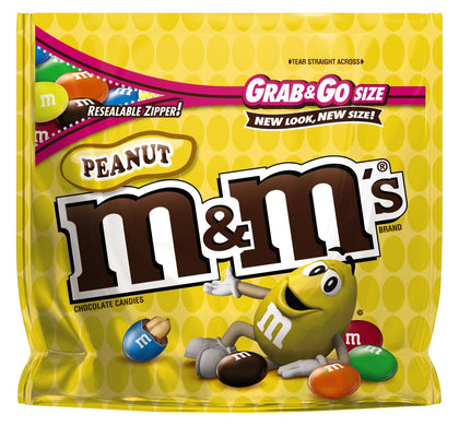 M&M's Peanut Grab & Go Chocolate Candies, 5.5oz
