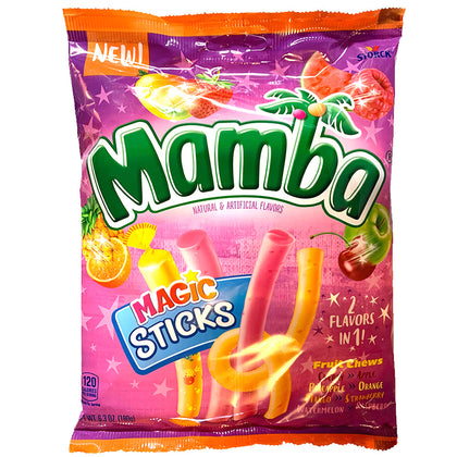 Mamba Magic Sticks Fruit Chews, 6.3oz