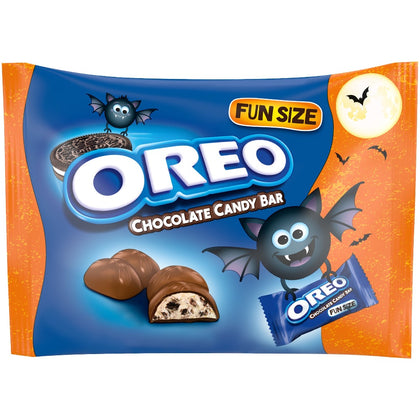 Milka Halloween Oreo Chocolate Candy Bars, Fun Size, 10.2oz