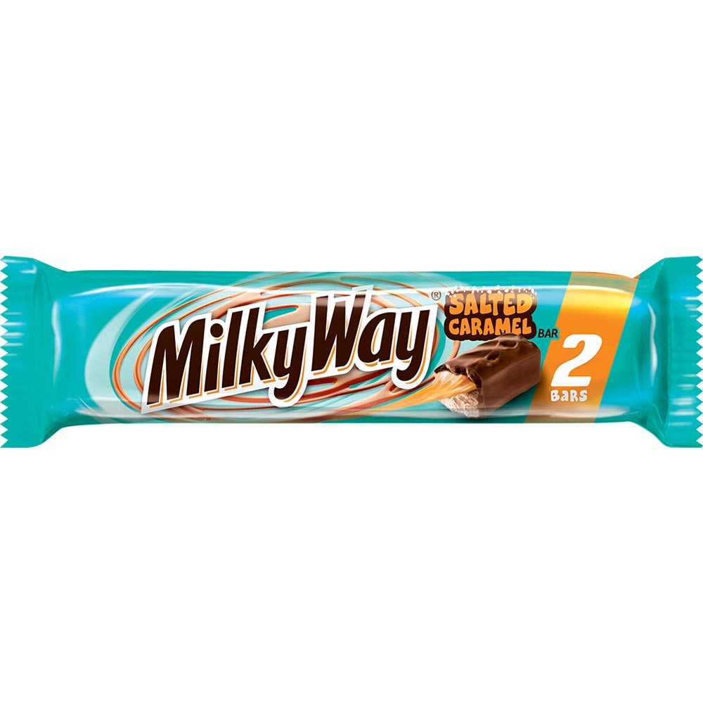 Milky Way Salted Caramel Bar, Share Size, 3.16oz