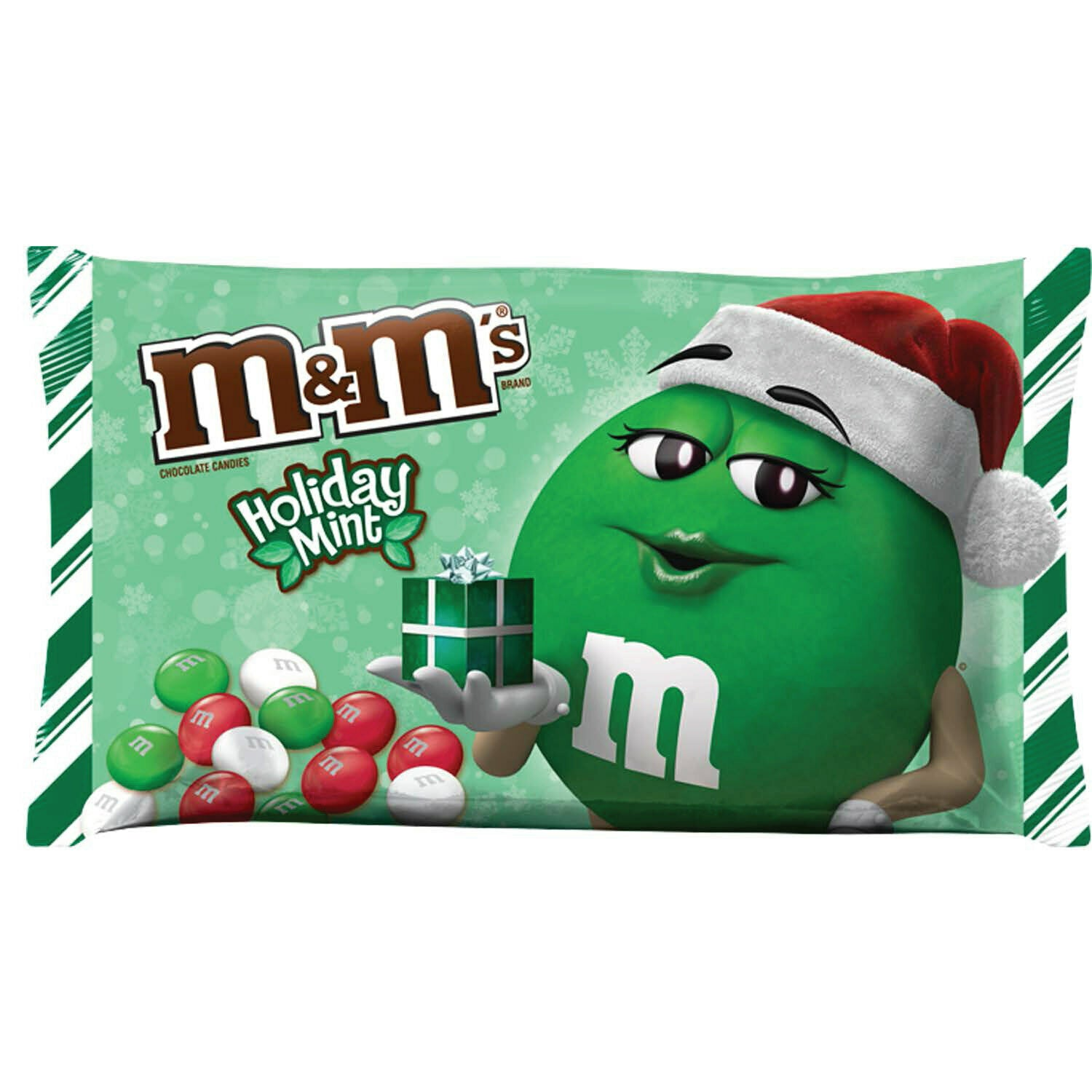 M&M's Holiday Mint Chocolate Candy, 9.2 Oz.