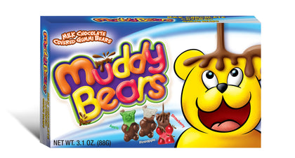 Muddy Bears, 3.1oz Theater Box