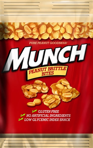Munch Peanut Brittle Bites, 4oz