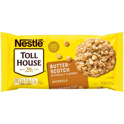 Nestle Toll House Butterscotch Flavored Morsels, 11oz