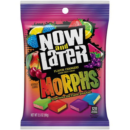 Now & Later Morphs Fruit Chews, 3.5oz