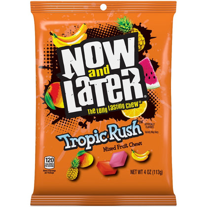 Now and Later Tropic Rush Fruit Chews, 4oz