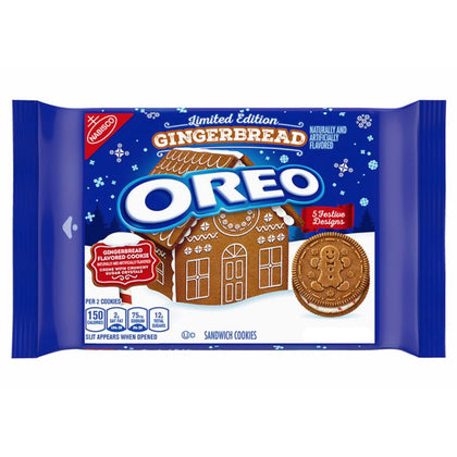 Oreo Gingerbread Limited Edition, 10.7oz