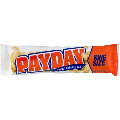 Payday Peanut Caramel Bar, King Size, 3.4oz