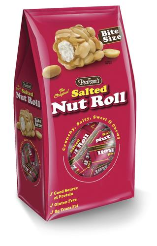 Pearson's Salted Nut Roll, Bite Size, 23oz (1 lbs. 7oz.)