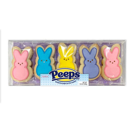 Peeps Decorated Bunny Butter Cookies, 7.05oz