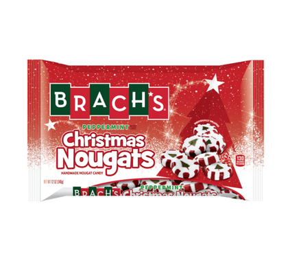 Brach's Christmas Peppermint Nougats, 11oz
