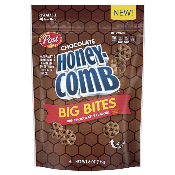 Post Chocolate Honeycomb Big Bites, 6oz