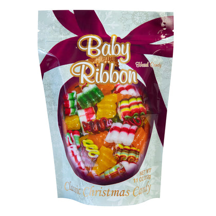 Primrose Candy Baby Ribbon Christmas Hard Candies, 11oz