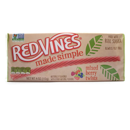 Red Vines Made Simple Berry Twists, 4oz