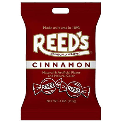 Reed's Cinnamon Hard Candies, Individually Wrapped, 4oz