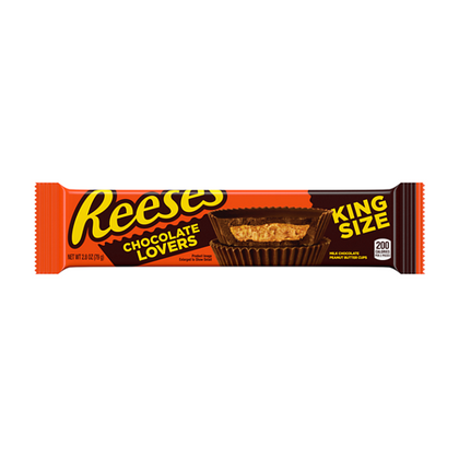 Reese's Chocolate Lovers Cups, King Size, 2.8 oz