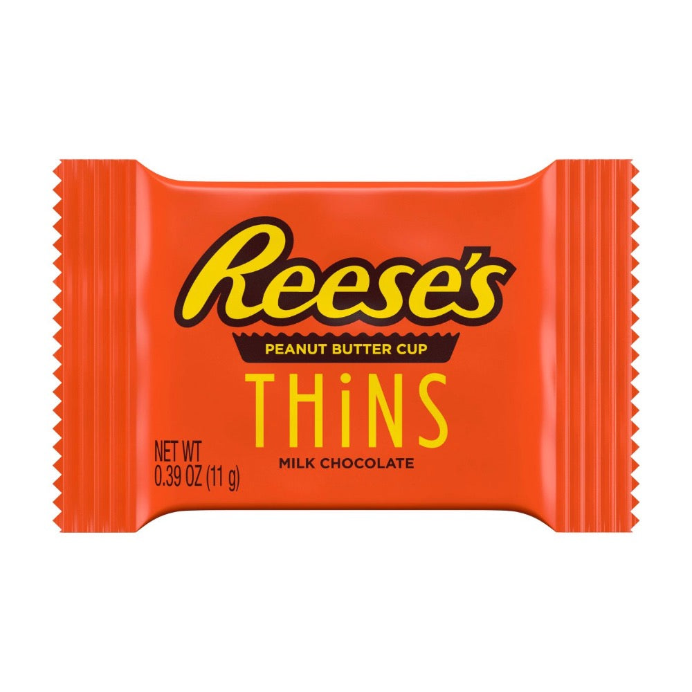 Reese's Peanut Butter Cup Milk Chocolate Thins, Share Pack, 7.37oz