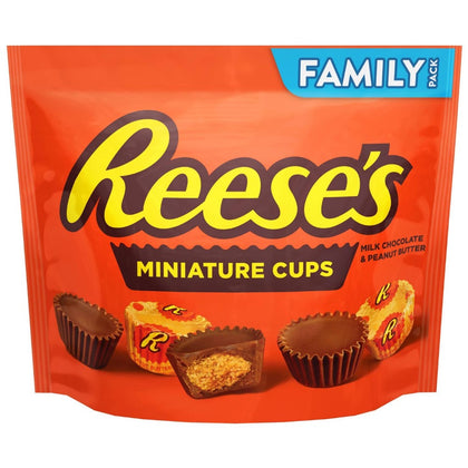 Reese's Miniatures, Family Size, 17.6oz