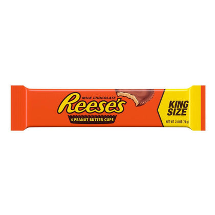 Reese's Peanut Butter Cups, King Size, 2.8oz