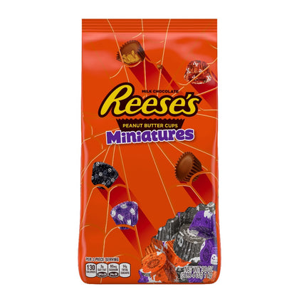 Reese's, Halloween Peanut Butter Cups Miniatures in Spooky Foils, 36 Oz